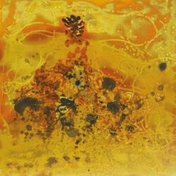 放逐自我13,王昭旻,瓷板画,85×86cm、2014年w