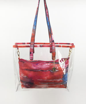 JE artist clear tote bag abstract2.5