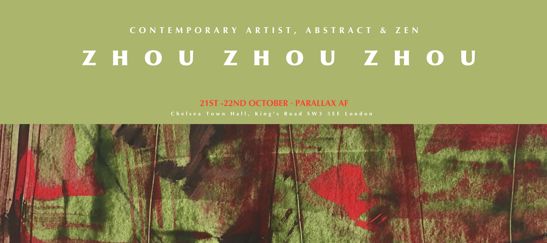 Zhouzhou Zhou Abstract Parallax Art Fair