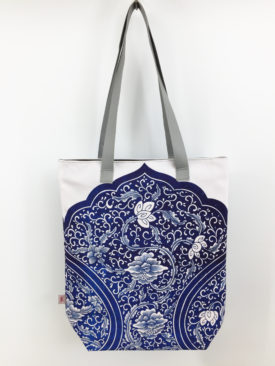 Chinoiserie Blue Tote1