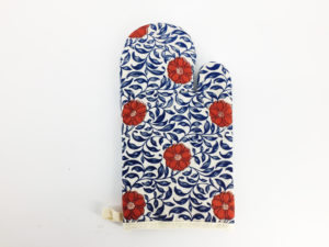 Floral Oven Mitts, Pot Holders, Oven Gloves