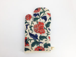 Floral Oven Mitts, Pot Holders, Oven Gloves 8