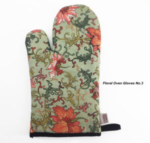 Oven Gloves, Oven Mitts, Kitchen gloves, Pot Holders, Chinoiserie 3